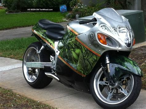Custom Suzuki Bikes Custom Suzuki Hayabusa Image 36