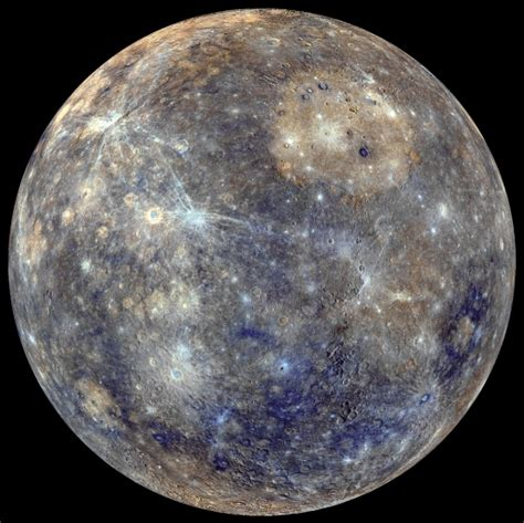 the color of mercury messenger snaps build stunning colour globe of mercury page 1