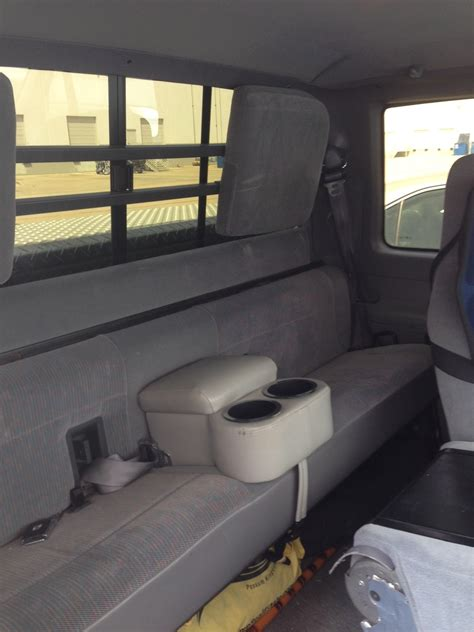 extended cab rear bench seat headrests diesel forum