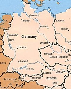 austria germany map germany austria map quotes