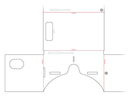 Strontium Blog Cardboard Vr Vr Cardboard Template
