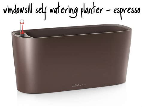 windowsill self watering planter self watering window