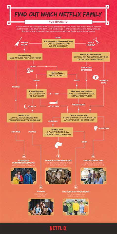 quiz find out which netflix family you belong to this cny