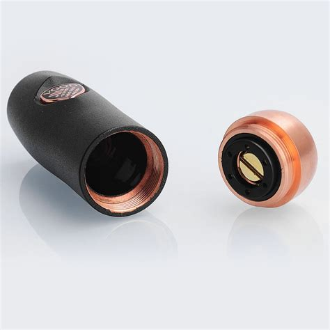 Vgod Elite Series Mechanical Authentic authentic vgod elite black copper 18650 hybrid mechanical mod