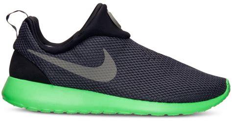 Nike Roshe Run Slip On nike mens roshe run slip on casual sneakers from finish