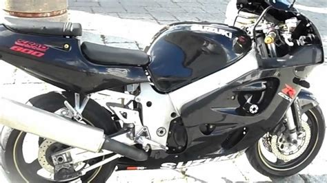 98 Suzuki Gsxr 600 Suzuki Gsxr 600 Srad Review