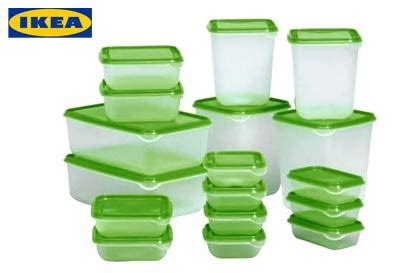 ikea food storage new ikea food saver storage box 17 piece container pruta