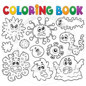 cartoon germs book covers