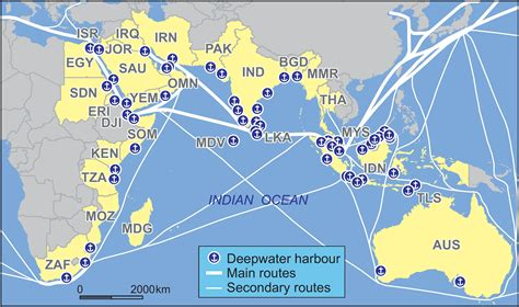 route map from usa to india india to develop new sea routes and shipping services