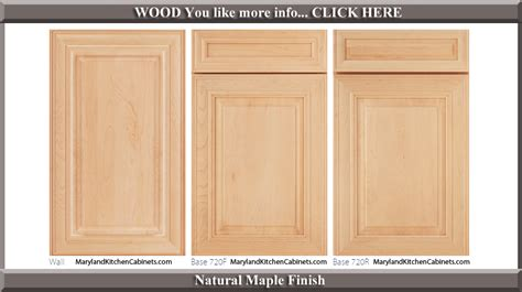 Ideas For A Kitchen 720 Maple Natural Finish Cabinet Door Style Kitchen And