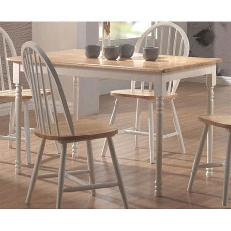 white legs dining table bellacor