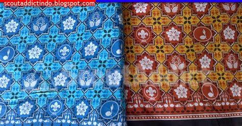 Tas Mat Bag Sarung Matras Tas Matras Batik kain pramuka kain loreng pramuka kedai atribut perlengkapan pramuka