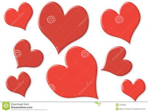 imagenes de corazones pequeños corazones peque 241 os y grandes al azar con 2 colores stock