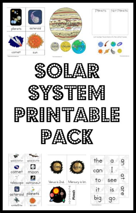 solar system lapbook printables page 4 pics about space