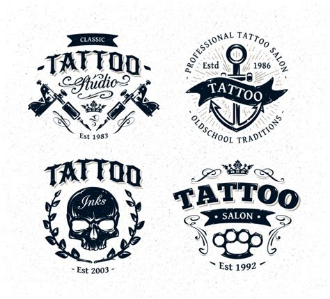 magic tattoo logo vector tattoo logo collection vector premium download
