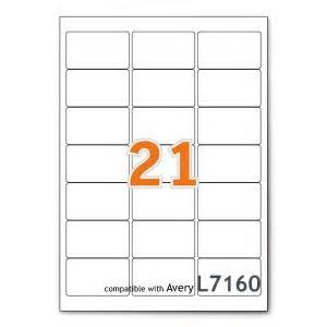 l7160 label template fba product labels 21 per sheet avery compatible l7160