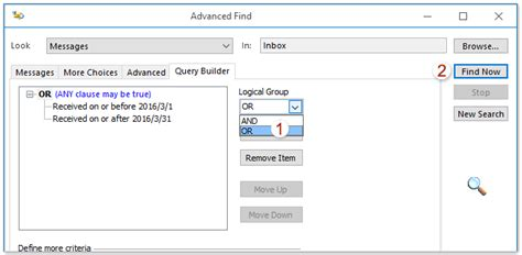 Search Email By Date How To Search Email By Date Range Between Two Dates In Outlook