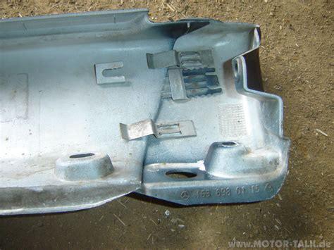 Motorr Der Ohne Verkleidung by 2 Wie Schweller Verkleidung Demontieren Mercedes Ml