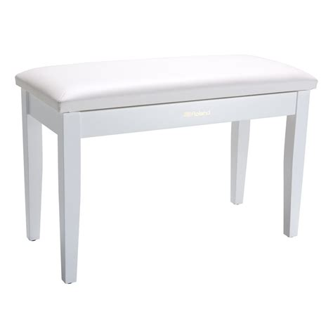 double piano bench roland rpb d100wh double piano bench white
