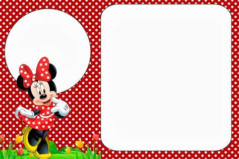 free printable minnie mouse invitation template minnie in free printables and invitations