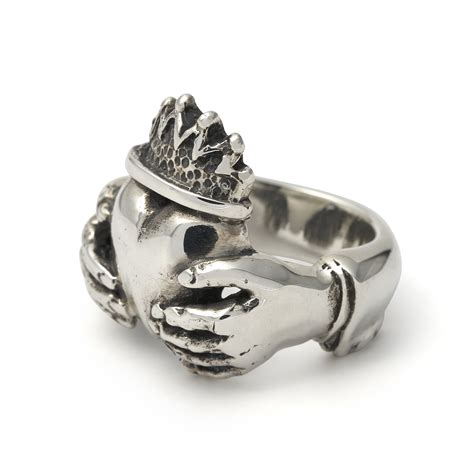 the great frog claddagh ring handmade in from