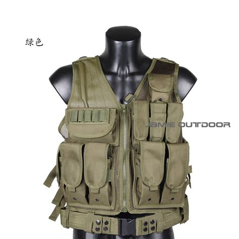 Rompi Tactical Vest Fsbe Molle Improt aliexpress buy selling tactical airsoft vest black green camo molle