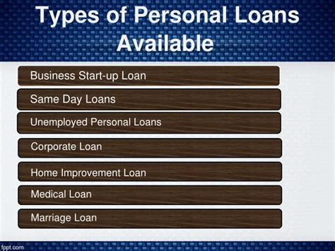 Car Loan Types Available by Ppt Fullerton India Personal Loan Personal Loan In