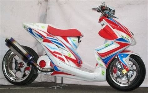 Jupiter Mx Modifi by New Motor Scooter Matic For 2010 Modification Foto