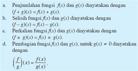 Aljabar Dan Teori Berhitung 1 Untuk Sltp jagoan belajar contoh soal dan pembahasan fungsi komposisi dan invers