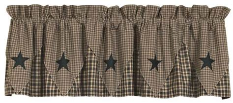 black star curtains india home fashions vintage star black lined pointed