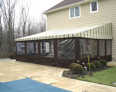Awnings For Patios And Decks by Residential Patio Awnings Traditional Patio Columbus