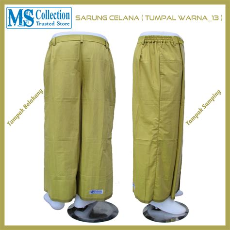 Sarung Celana sarung celana tumpal warna 13 ms collection