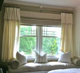 Window Treatment For Bay Windows Decor Foundation Dezin Decor Bay Window Curtain Treatments