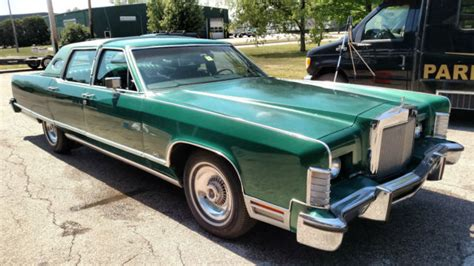 auto body repair training 1992 lincoln continental navigation system 1977 lincoln continental town car classic original green leather garaged 92k for sale photos
