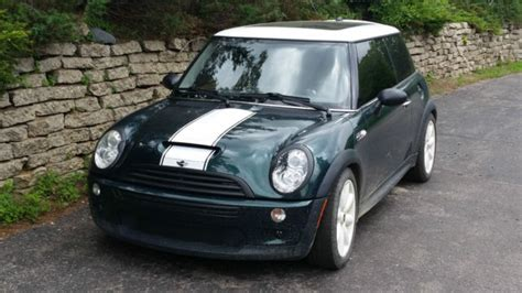 Pita Jepit Mini Green Stripes 2006 mini cooper s green with white stripe fully loaded needs auto trans work