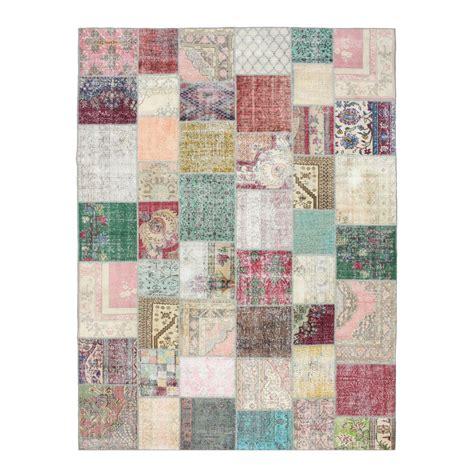 Vintage Patchwork Rugs - various vintage patchwork rug 406x304cm