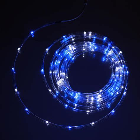 blue white mini rope light 16 u c products