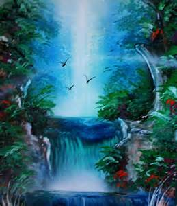spray painting techniques easy paintings of waterfalls www pixshark images
