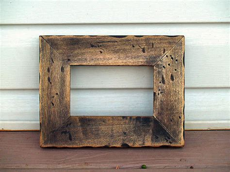 reclaimed wood frames unavailable listing on etsy
