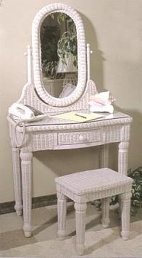 Wicker Vanity Set Wicker Dressing Table Wicker Vanity Set