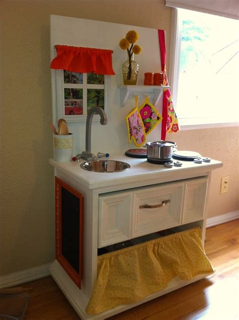 homemade play kitchen ideas 40 best play kitchens dollhouses repurpose end tables