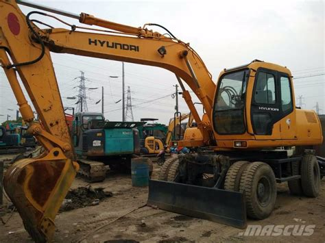 used hyundai 130 for sale used hyundai 130 5wd wheeled excavators year 2009 for