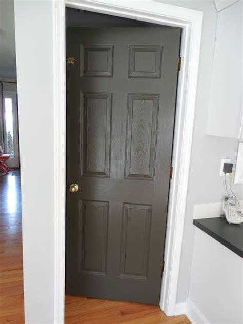 amber  interiors black interior doors painting doors