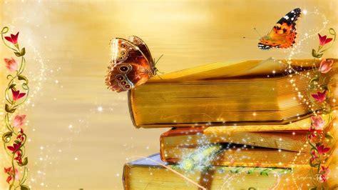 computer wallpaper books books butterflies and flowers full hd wallpaper and