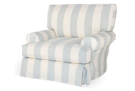 White Comfy Chair Comfy Chair Blue White