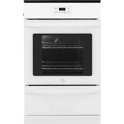 Oven Gas Manual kenmore 40292 24 quot manual clean gas wall oven white