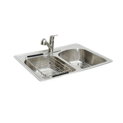 stainless steel drop in dry glacier bay all in one drop in stainless steel 33 in 2