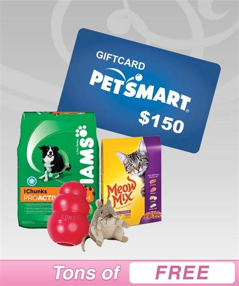 Free Petsmart Gift Card - want to qualify for free sles pick the gift card you d rather have