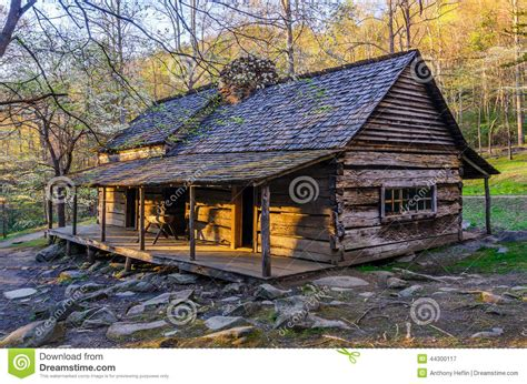 Mountain Cabin Plans bud ogle place roaring fork nature trail great smoky