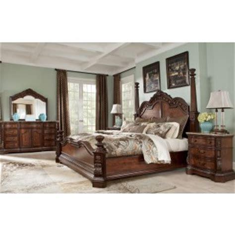 San Mateo 6 Cal King Bedroom Set by San Mateo Sleigh Bedroom Set From Pulaski 662170 662171